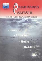 Asigurarea Calităţii - Quality Assurance, Anul III, Numărul 93, Ianuarie-Martie 1997