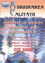 Asigurarea Calităţii - Quality Assurance, Anul VI, Numerele 23-24, Iulie-Decembrie 2000