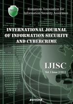 IJISC - International Journal of Information Security and Cybercrime, Volume 1, Issue 2, Year 2012
