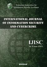 IJISC - International Journal of Information Security and Cybercrime, Volume 2, Issue 2, Year 2013
