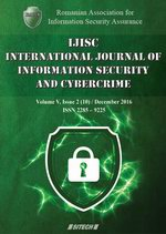 IJISC – International Journal of Information Security and Cybercrime, Volume 5, Issue 2, Year 2016