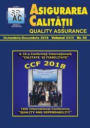 Asigurarea Calităţii - Quality Assurance