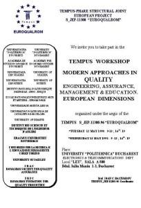 Poster Tempus Workshop 1998